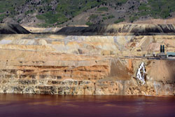 The Berkeley Pit in Butte.
