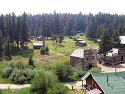Garnet Ghost Town, one of many cultural attractions in the Clark Fork Basin.