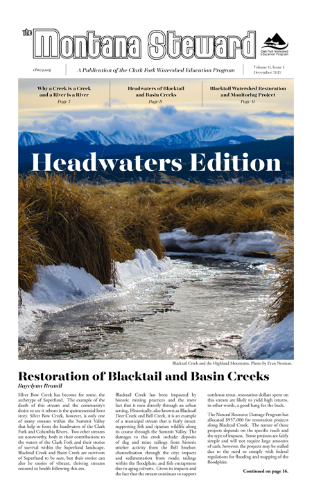 Montana Steward Headwaters Edition